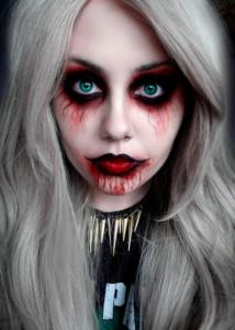 Яркие и страшные мэйкапы Halloween