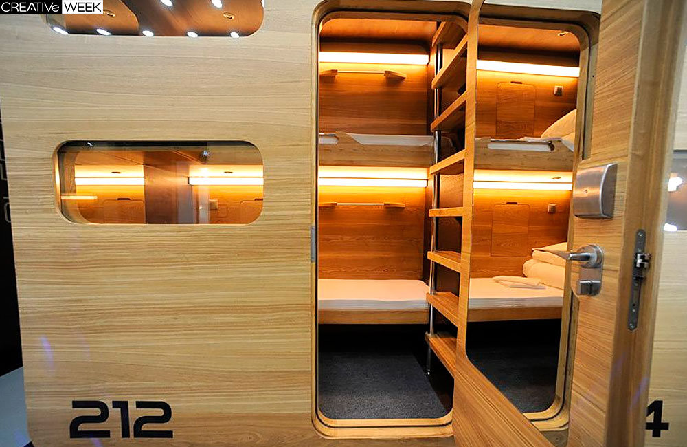 Гостиница SLEEPBOX в 4м2