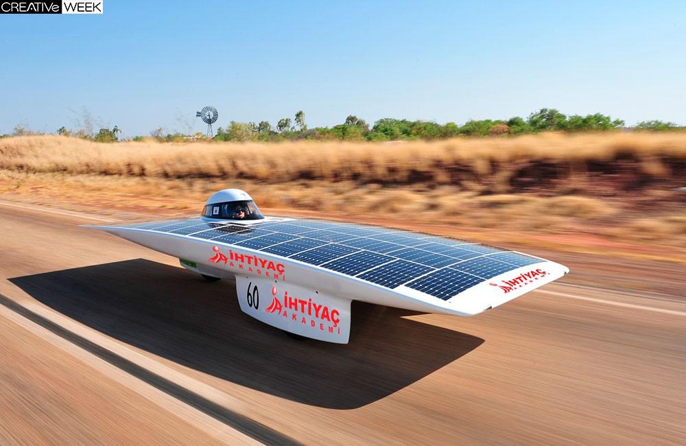 В Австралии прошла двухдневная гонка солнцемобилей