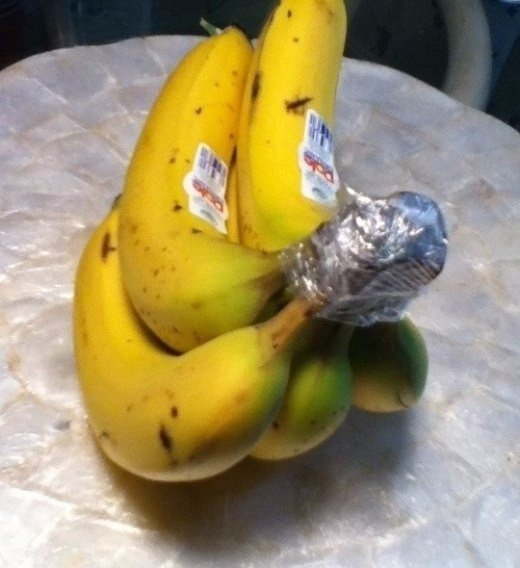 Как продолжить жизнь бананам | лайфхак