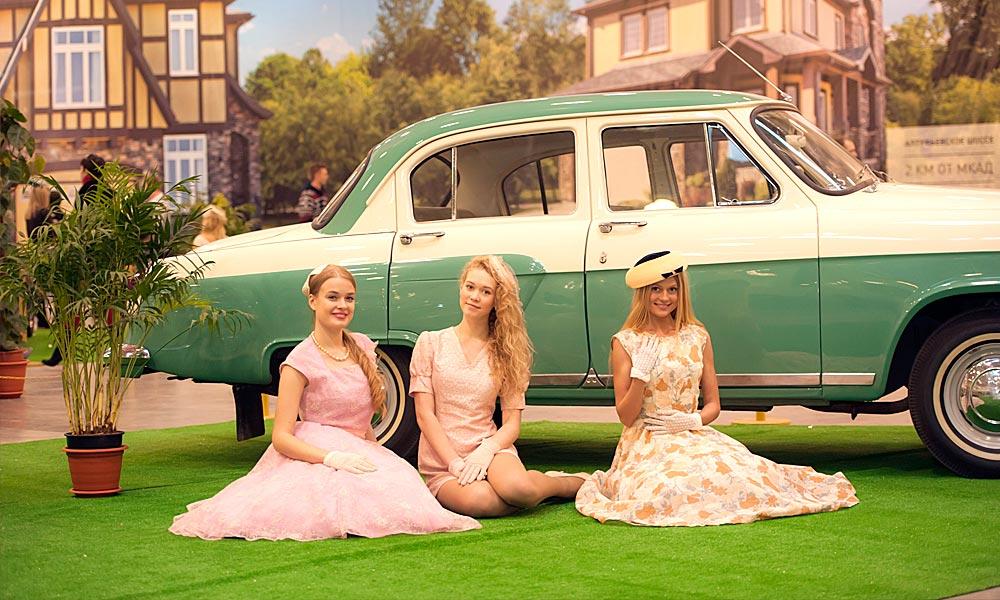 21 мая Фестиваль коллекционных ретро-автомобилей в «Сокольниках».