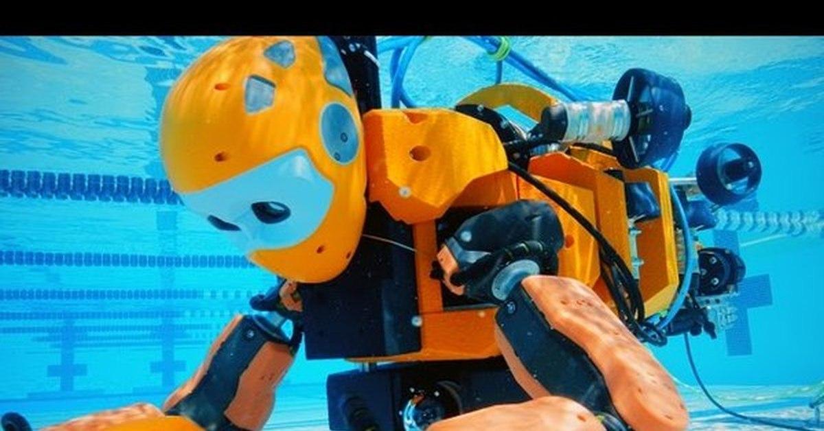 робот для изучения затонувших кораблей
