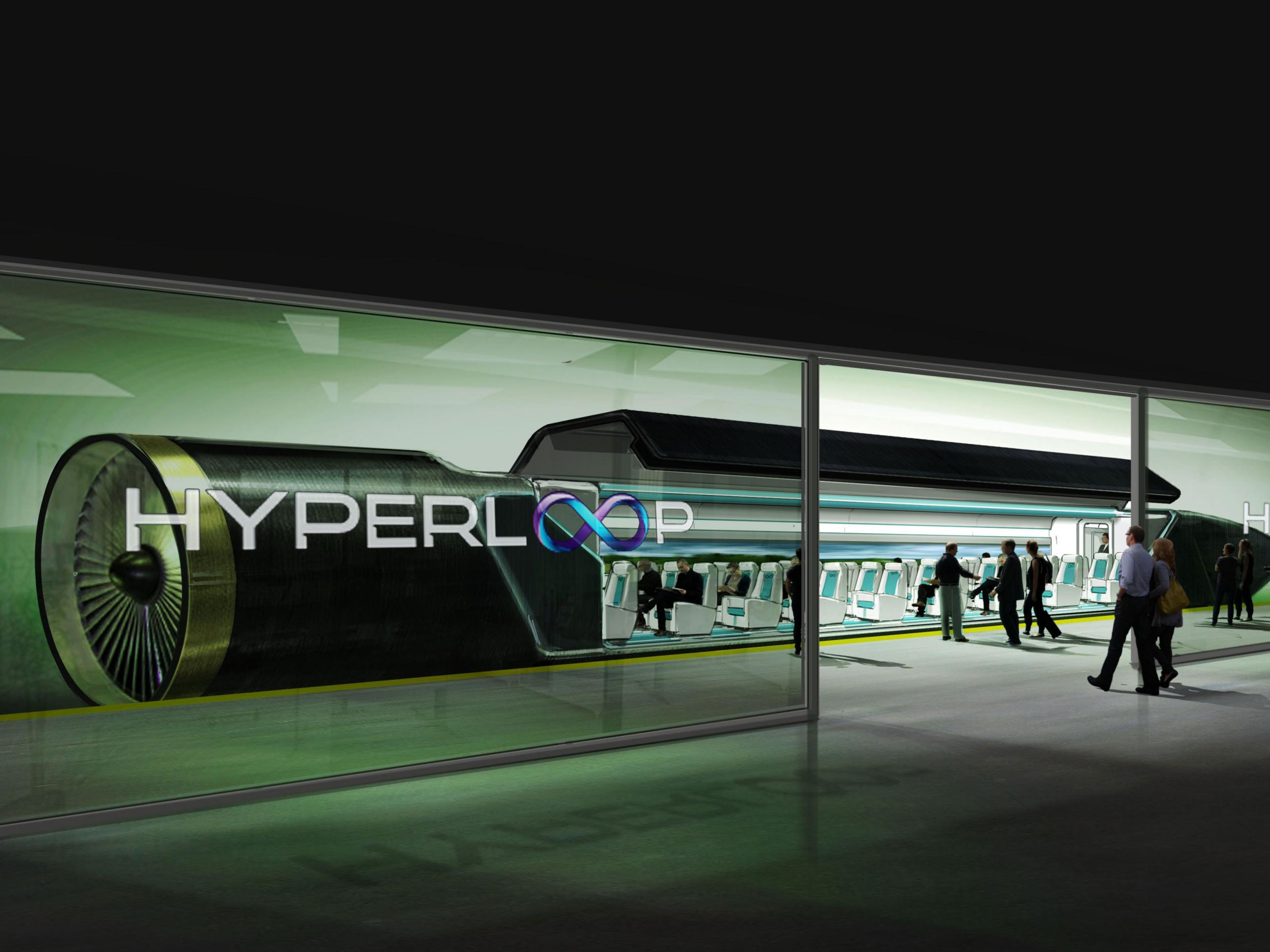 Сверхзвуковой поезд Hyperloop будет запущен в Восточной Европе