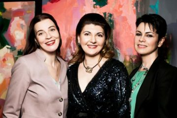 Мария Тарасевич, Лиана Давидян и Амария