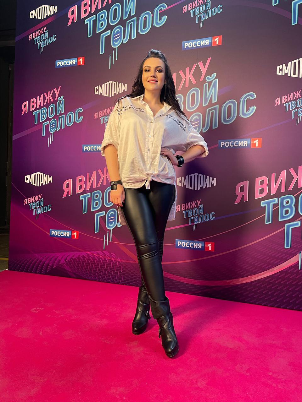 Звезда шоу «Голос» Наталья Сидорцова, «Я вижу твой голос» на канале «Россия 1»