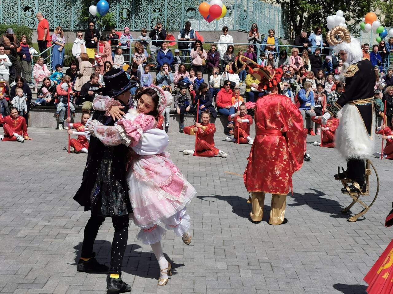 открытие Парк-театра Образцовпарк